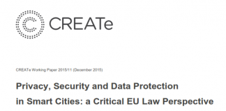 Privacy, Security and Data Protection in Smart Cities- a Critical EU Law Perspective