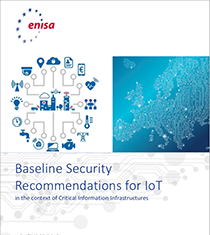 ENISA - Baseline Security Recommendations for IoT