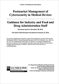FDA-Postmarket-Management-of-Cybersecurity-in-Medical-Devices