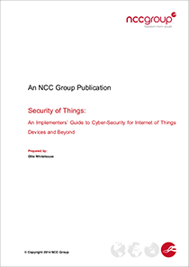 NCC-Security-of-Things